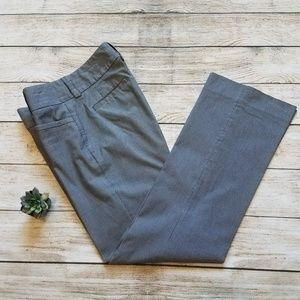 Banana Republic Sloan Fit Navy Pinstripe Pants 6 D